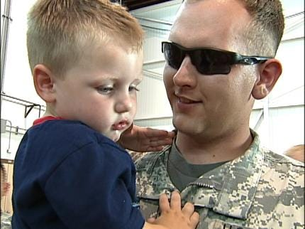 National Guardsmen Return Home From Iraq