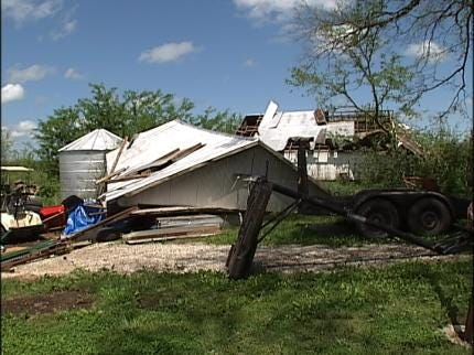 Storms Produce Damage In Southern Kansas