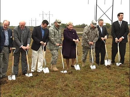 Ground Broken For New BA Armed Forces Reserve Center