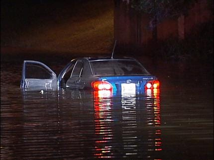 Oklahoma Driving Test To Address High Water Safety