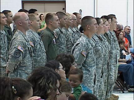 Oklahoma National Guard Black Hawks Head To Iraq