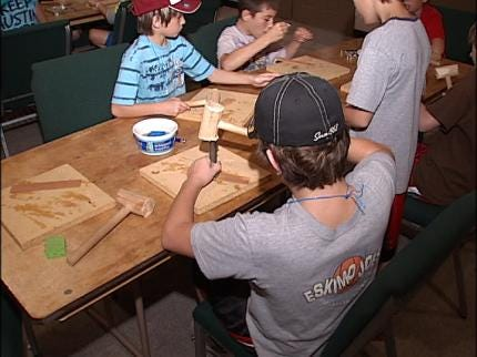 Middle Schoolers Experience Jenks Wild