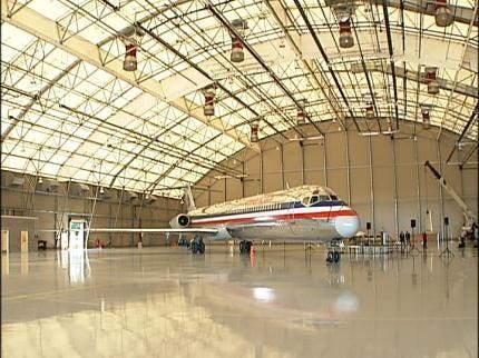 New American Airlines Hangar Helps Keep Jobs In Tulsa