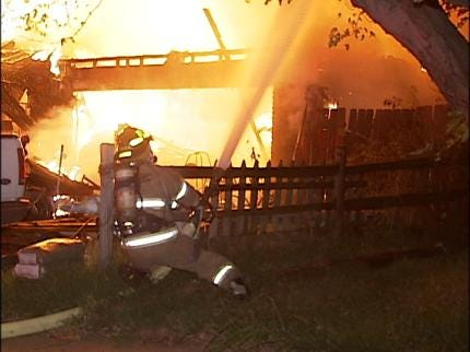 Vacationing Tulsa Family Loses Home To Fire