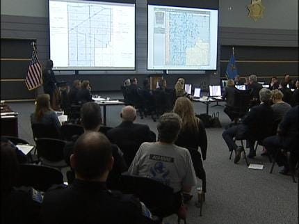Mayoral Candidates Take Part In Tulsa Police Briefing