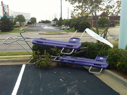 Storm Causes Damage In South Tulsa Saturday