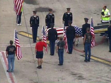 39 Years Later, Army Officer Donald Wann's Remains Return To Oklahoma