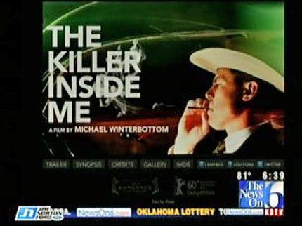 Oklahoma-Filmed 'The Killer Inside Me' Opens Friday At Circle Cinema