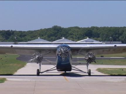 Historic 'Tin Goose' Airplane Makes Tour Stop In Tulsa