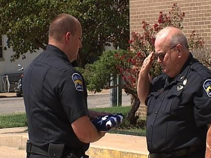 Tribute Held Tuesday For Bartlesville Police Dog