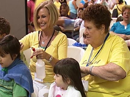 Tulsa's Southwood Baptist Church Hosts Back-To-School Event