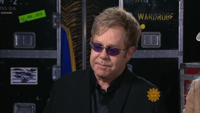 Tulsa Man Says Elton John Gave Him His Life Back