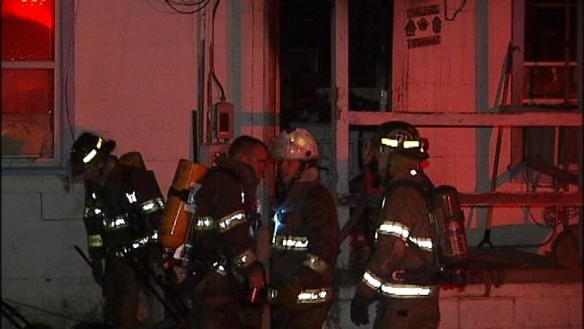 Space Heater To Blame For Turley Structure Fire