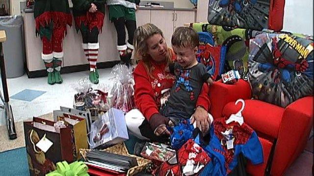 Company Helps Bring Christmas Joy To Oologah Meningitis Victim