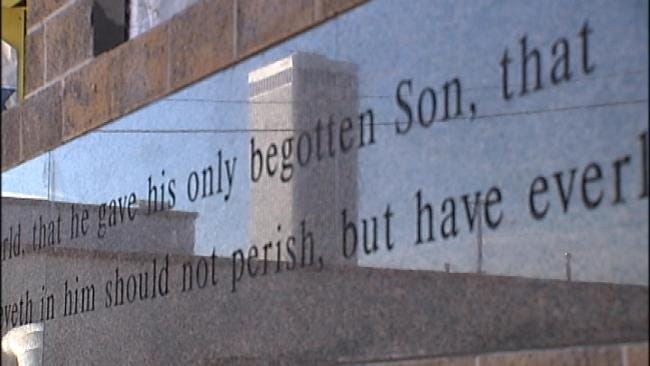 Tulsa's John 3:16 Lays Cornerstone For New Building