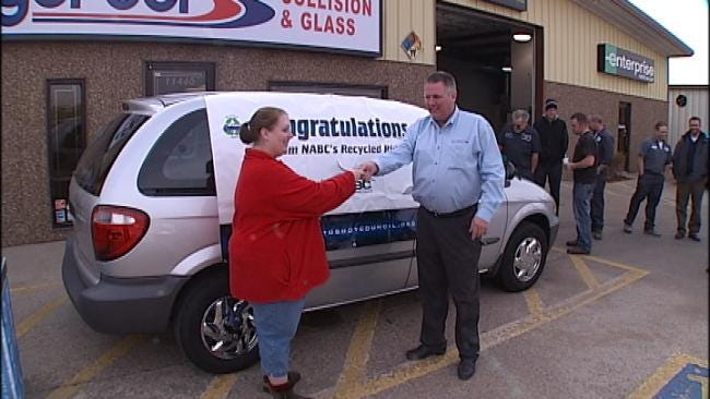 Donated Car Gets Green Country Family Going Again