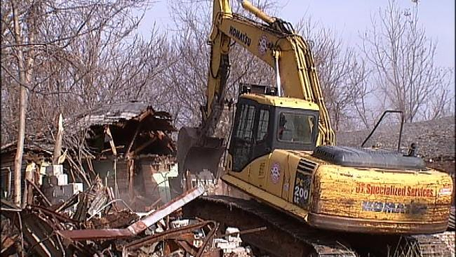 Tulsa Homes Demolished To Improve Midtown Neighborhood