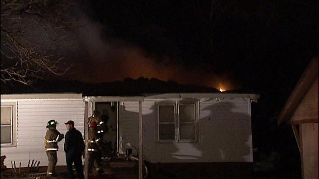 No One Injured In Wednesday Morning Sand Springs House Fire