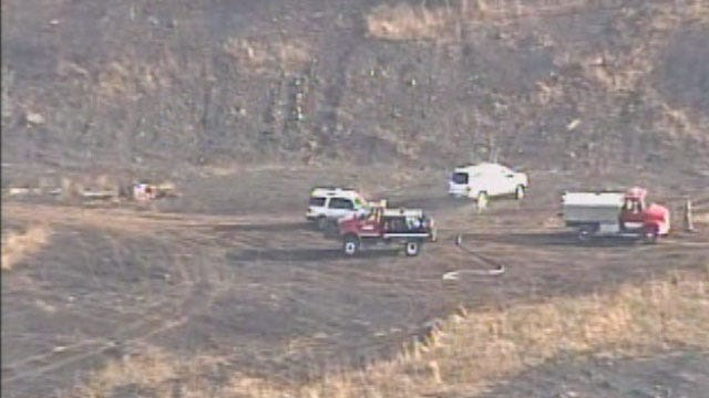 Crews Battle Grass Fire In Rogers County