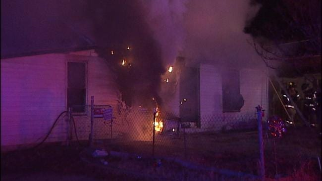 Two Tulsa Homes Destroyed By Flames Sunday Night And Monday Morning