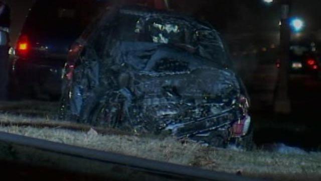 Teenager Killed In Fiery Crash On Tulsa Highway
