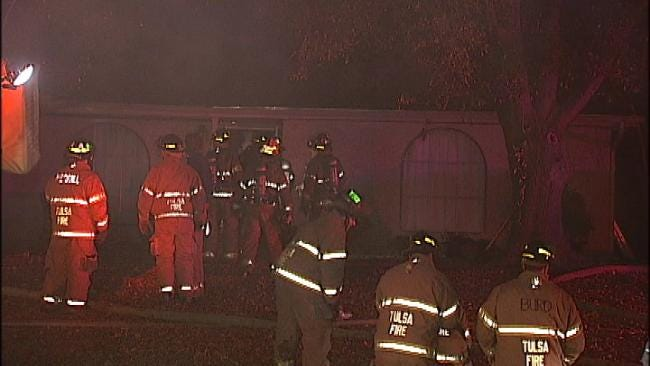 Tulsa Home Destroyed By Fire Early Tuesday
