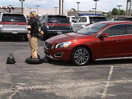 New Car On The Market Offers Pedestrian Detection System