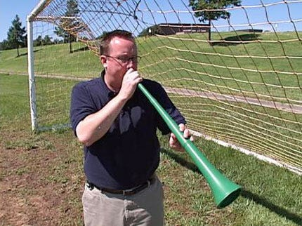 Meet The Vuvuzela: That Deafening Drone Of World Cup Soccer