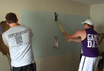Hominy Church Receives An 'Extreme Makeover' Thanks To Volunteers