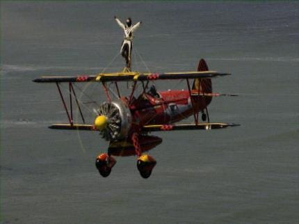 Tulsa Woman Sets New Wing Walking World Record; Ready To Go Again