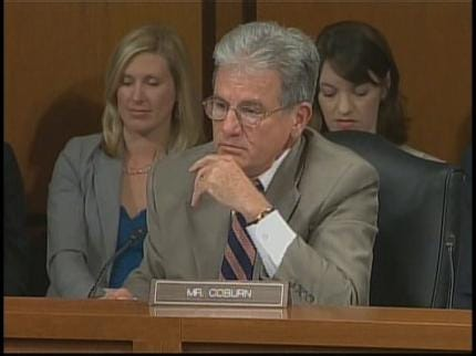 Coburn, Kagan Clash On Final Day Of Confirmation Hearing