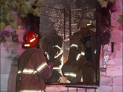 No One Injured In Tulsa House Fire