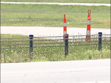 ODOT Pulling Up Cable Barriers On Tulsa Highway