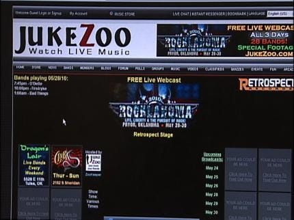 Tulsa Man Launches Website To Stream Live Concerts