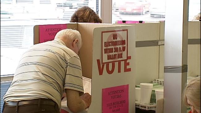 Lengthy Ballot Awaits Oklahoma Voters At The Polls Tuesday
