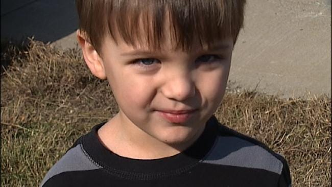 Checotah Family Has Close Call After Bowling Ball Thrown From Overpass