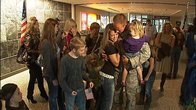 Tulsa-Based Squadron Returns Home From Middle East