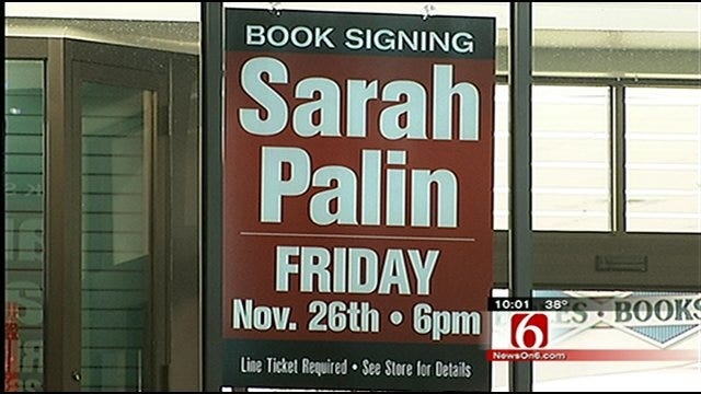 Palin Makes Tulsa Stop In Nationwide Book Tour