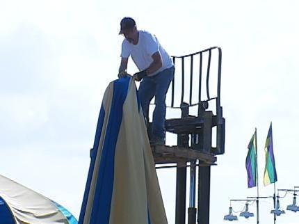 Tear Down Of Tulsa State Fair A Massive Operation