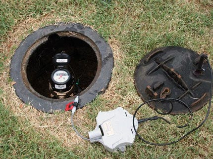 Crews Finish Up Installation of New Automated Water Meters In Sand Springs