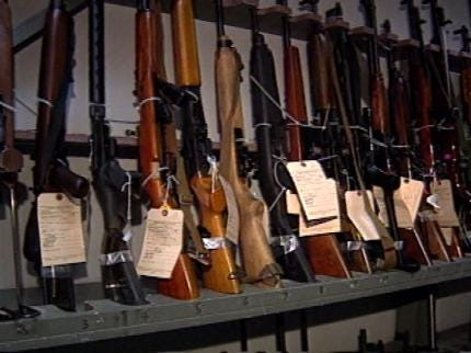 Tulsa Raid Helps Police Track Guns From Seller To Criminal