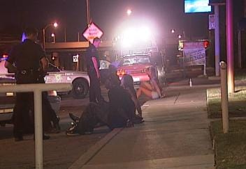 Two Arrested After Armed Robbery Outside Tulsa Movie Theater