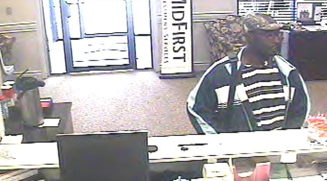 New Photos Released Of Midfirst Bank Robbery Suspect