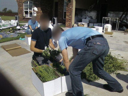 Sophisticated Indoor Marijuana Growing Operation Uncovered In Wagoner County