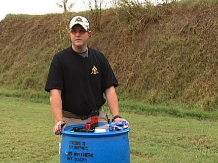 Pilot Program Helping Wounded Soldiers In Oklahoma Become Firearms Instructors
