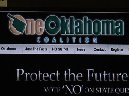Financial Donation Supporting State Question 744 Raises Ethical Issues