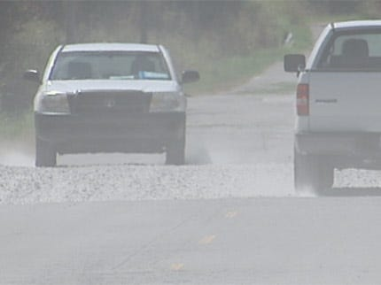 County Roads In Oklahoma Reverting Back To The 'Stone Age'