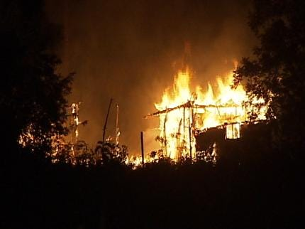 Authorities Say 3 Abandoned Home Fires Were Started By An Arsonist