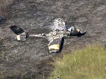 Instructor And Student Pilot Survive Fiery Emergency Landing Near Jones Riverside Airport