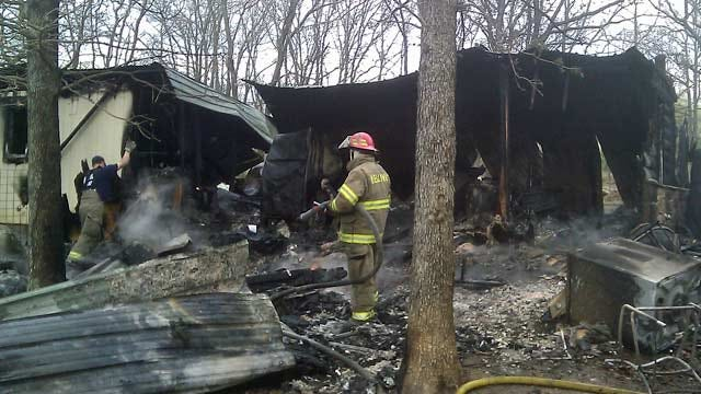 Lucky Pups Rescued From Burning Bristow Animal Shelter